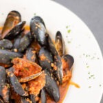 MUSSELS, RED or WHITE